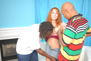 Goig shy, but agreeing upon redhead puss - XXX Dessert - Picture 3
