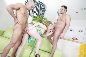 Let nude redheads revel in double fuckin - XXX Dessert - Picture 7