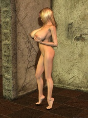 Kinky sex anime babe rubbing her big tits on free xxx - Picture 3