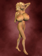 Insanely hot cartoon porn with very hot curly blonde - Picture 6