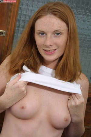 Some dirty redhead porn from young well- - Picture 2