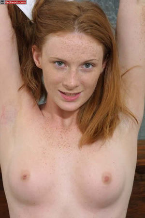 Some dirty redhead porn from young well- - Picture 3