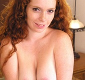 All redhead pussy looks so nice and tempting in all these piccies