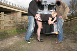 All standing in doggy style and rejoicing at the horniest threesome xxx in the dark - XXXonXXX - Pic 5
