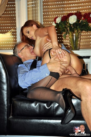 That red-haired one enjoyed the filthies - XXX Dessert - Picture 11