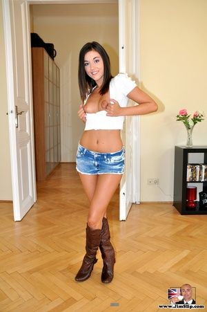 Today this brunette is not gonna give yo - XXX Dessert - Picture 4