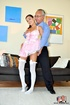 What can be sweeter and more nourishing for than long salty pantyhose