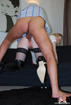 See what she is doing with that old fart - XXX Dessert - Picture 8