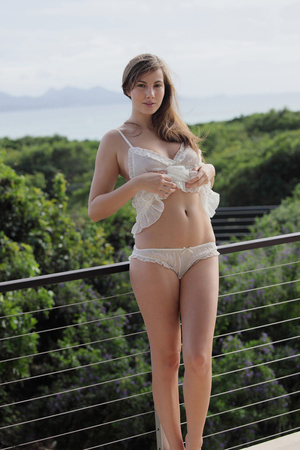 Fantastic brunette cutie undressing and  - XXX Dessert - Picture 10