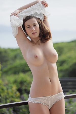 Fantastic brunette cutie undressing and  - XXX Dessert - Picture 12