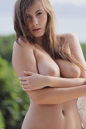 Fantastic brunette cutie undressing and  - XXX Dessert - Picture 13