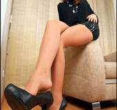 I'd fuck the one over and over once she demonstrates her sexy legs and