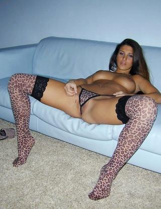 dressed leopardskin underwear tights