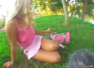 Blonde nymph with awesome tits gets plow - XXX Dessert - Picture 2