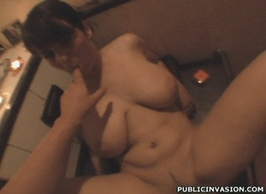 Hot big boobed chick flashing her tits a - XXX Dessert - Picture 9