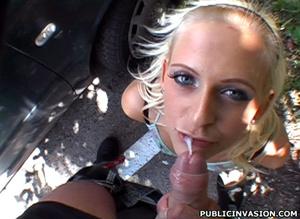 Cum hungry petite blonde babe pleasing s - XXX Dessert - Picture 16