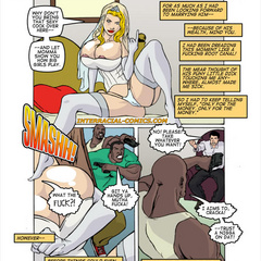 Blonde cartoon wife with epic boobs gets gang banged - Picture 3