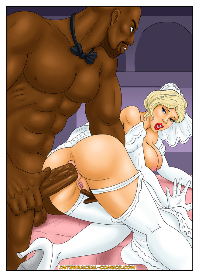 Interracial cartoon porn comics this brilliant