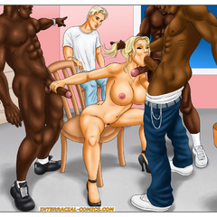 Stunning toon babes like it big and black shoving - Picture 7