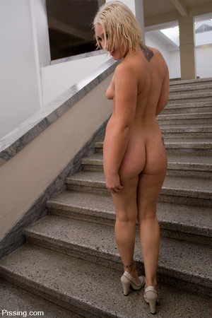 Why do such sexy blondes allow guys do Pissing in Public on themselves? - XXXonXXX - Pic 10