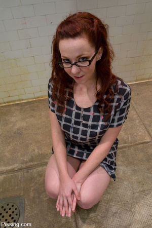The male peeing is over, so the one is allowed to do girl pissing herself - XXXonXXX - Pic 2