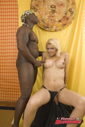Heavy breasts blonde shemale slowly stri - XXX Dessert - Picture 15