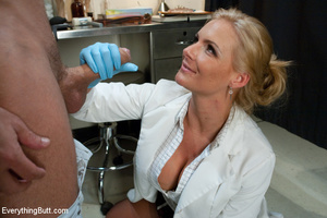 Sexy doctor gets double penetrated for f - XXX Dessert - Picture 6