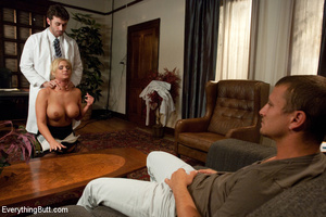 Sexy doctor gets double penetrated for f - XXX Dessert - Picture 8