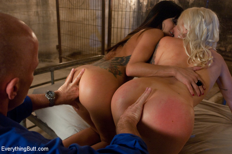 Spanking Rough Threesome Sex