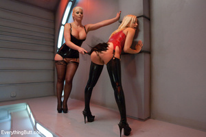 Latex anal kinky sex with Phoenix Marie  - XXX Dessert - Picture 3