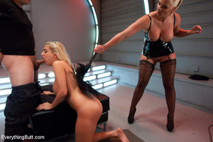 Latex anal kinky sex with Phoenix Marie  - XXX Dessert - Picture 9
