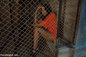 Sexy prisoner gets rough anal sex and do - XXX Dessert - Picture 1