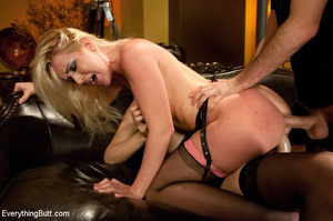 Kinky anal sex and hard punishment, doub - XXX Dessert - Picture 11