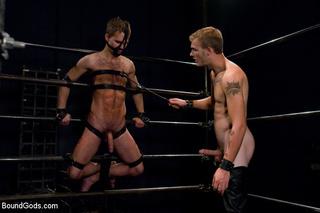 muscled gay porn god
