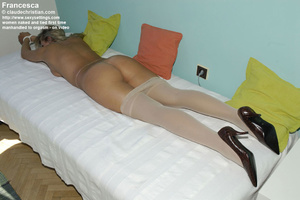 Shy round ass blonde Jenni likes being h - XXX Dessert - Picture 18