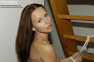 Horny brunette Susana Spears in sexy sta - XXX Dessert - Picture 18