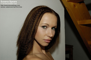 Horny brunette Susana Spears in sexy sta - XXX Dessert - Picture 19