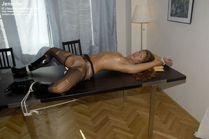 Awesome woman Jennifer in black underwea - XXX Dessert - Picture 10