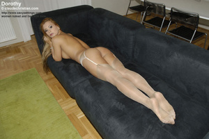 Gorgeous big boobed in sexy stockings an - XXX Dessert - Picture 5