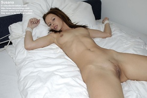 All naked babe Susanna tied legs spread  - XXX Dessert - Picture 8