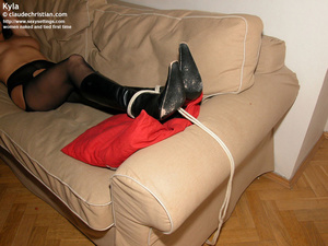 Fantastic Kyla in crotchless pantyhose g - XXX Dessert - Picture 10