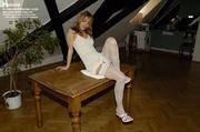 lusty pamela white stockings