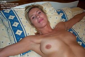 Horny blonde girl Linda gets tied spread - XXX Dessert - Picture 16