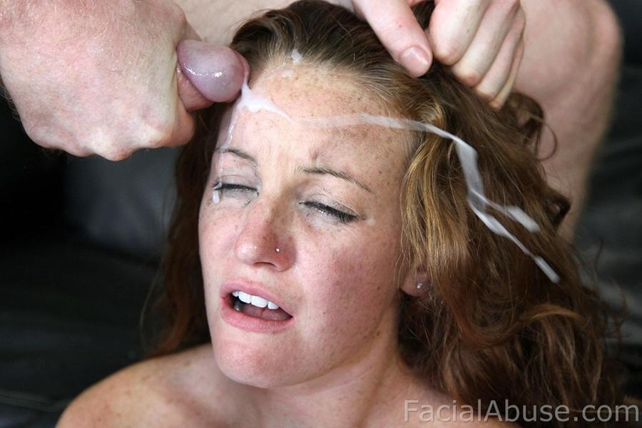 facial porn head Red