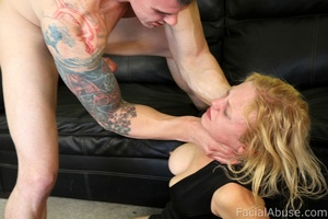 Clayra Beau gets throat fucked while try - XXX Dessert - Picture 10
