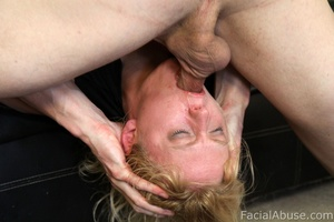 Clayra Beau gets throat fucked while try - XXX Dessert - Picture 11