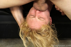Clayra Beau gets throat fucked while try - XXX Dessert - Picture 12