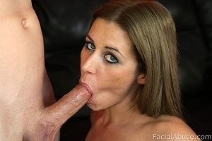 White trash hick with cum on her face - XXX Dessert - Picture 4