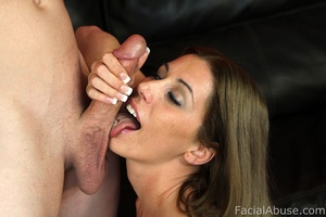 White trash hick with cum on her face - XXX Dessert - Picture 5