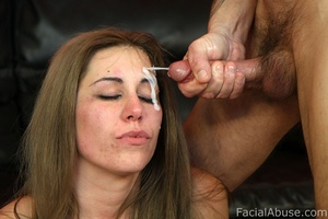 White trash hick with cum on her face - XXX Dessert - Picture 14